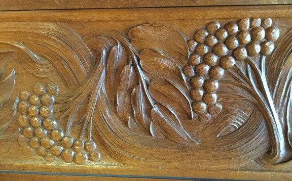 Panelling at Blackwell